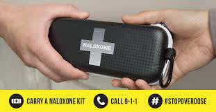 Naloxone first aid kit