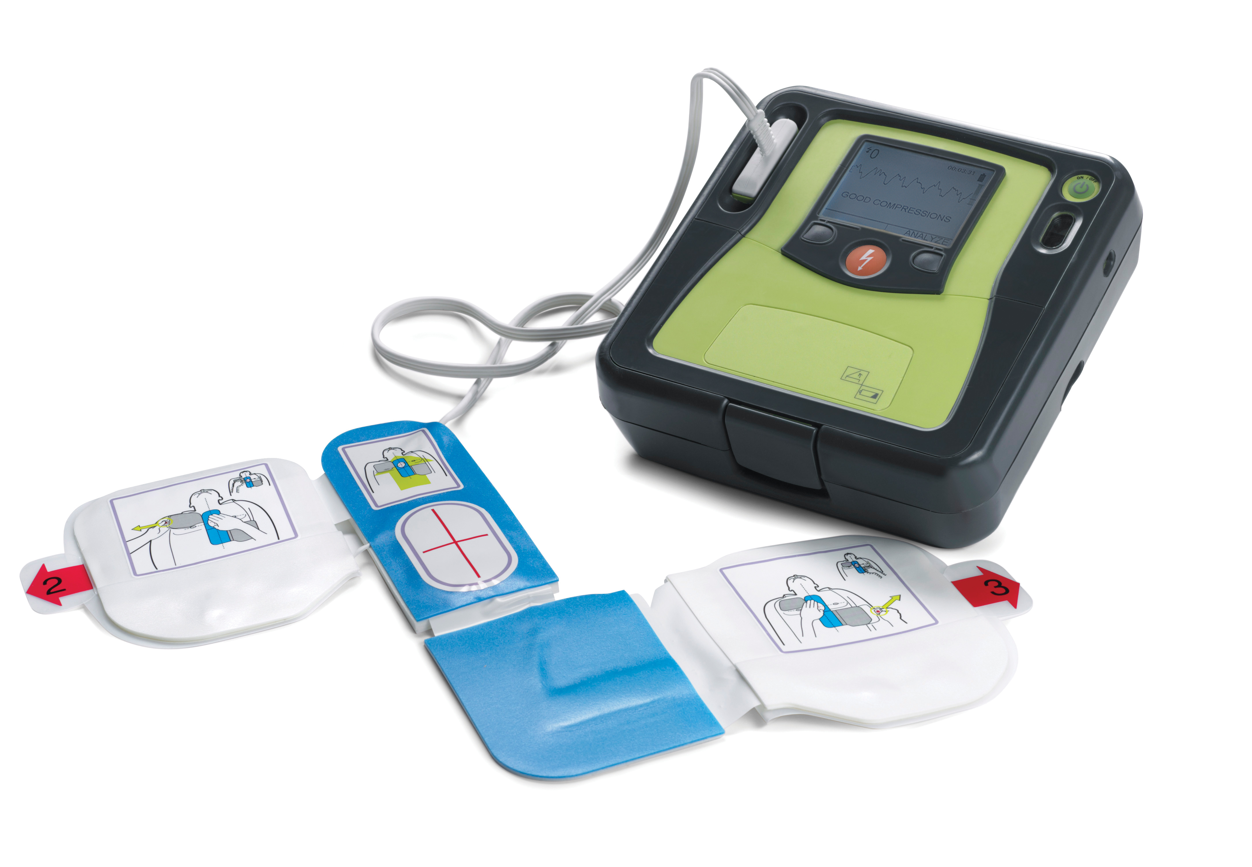 Zoll AED Pro (semi-auto/manual version) image