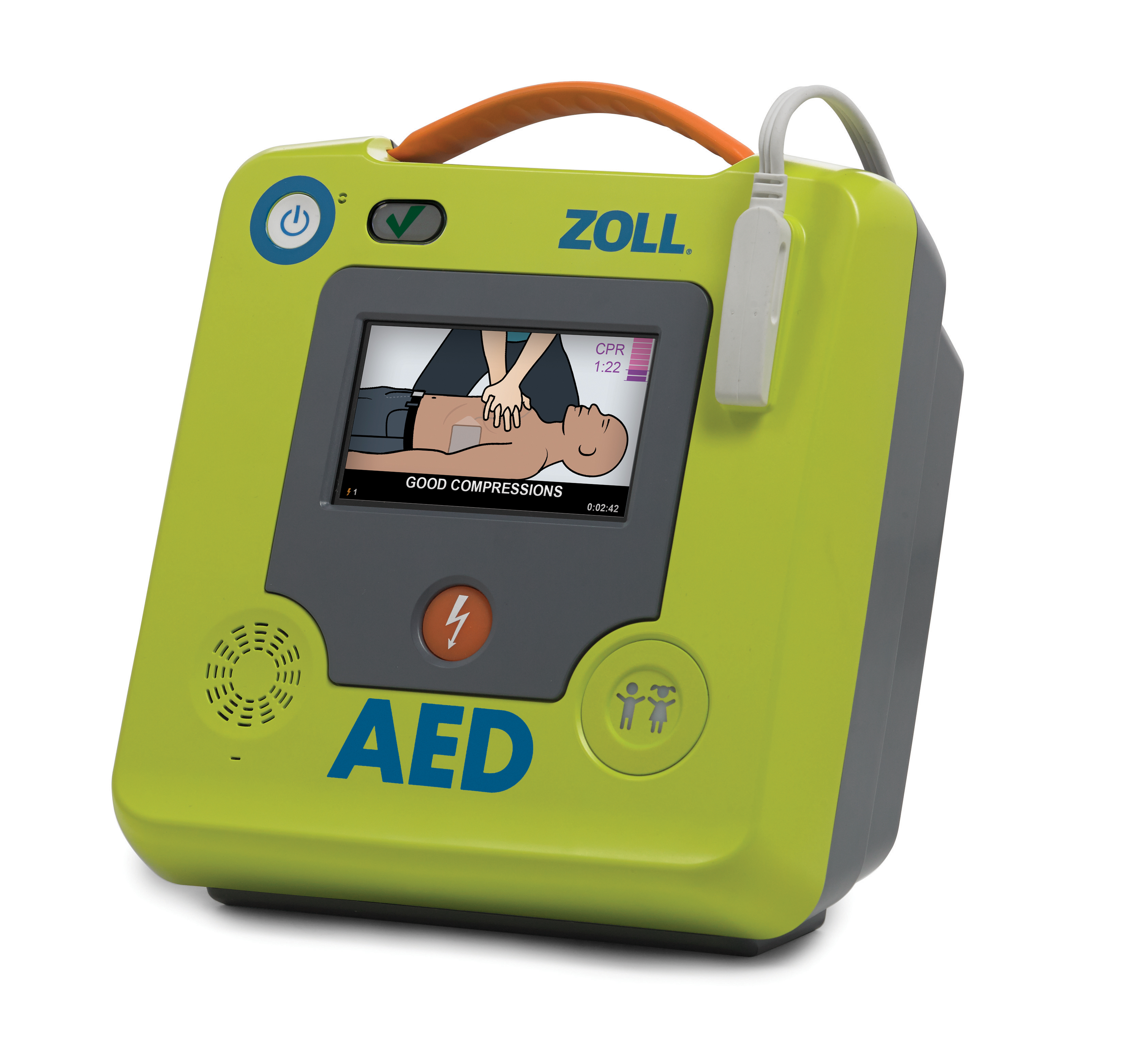 ZOLL AED 3 Package with Cabinet image