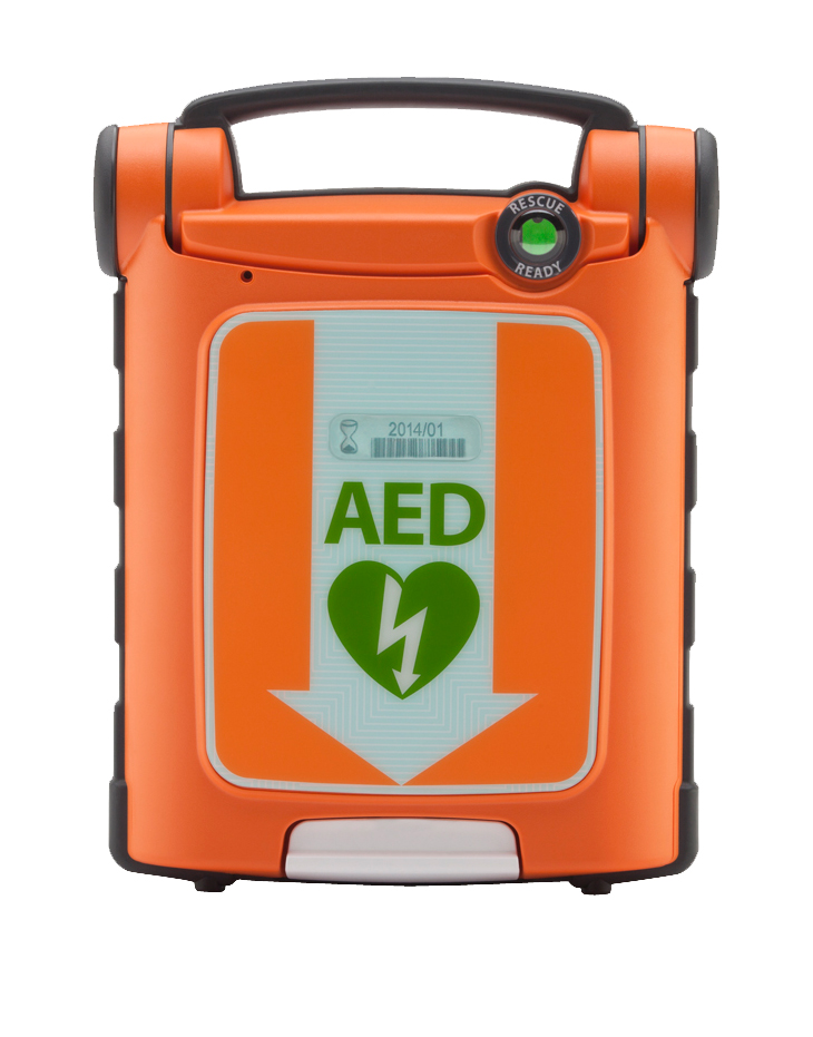 Powerheart G5 AED Package with Cabinet, CPR Assist image