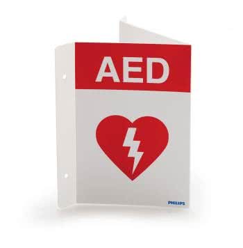 Onsite AED with Ready Pack and Wall Mount image