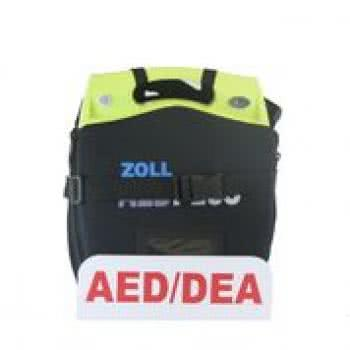 Zoll AED Plus package with wall mount image