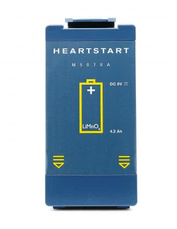 Philips HeartStart FRX AED with case image