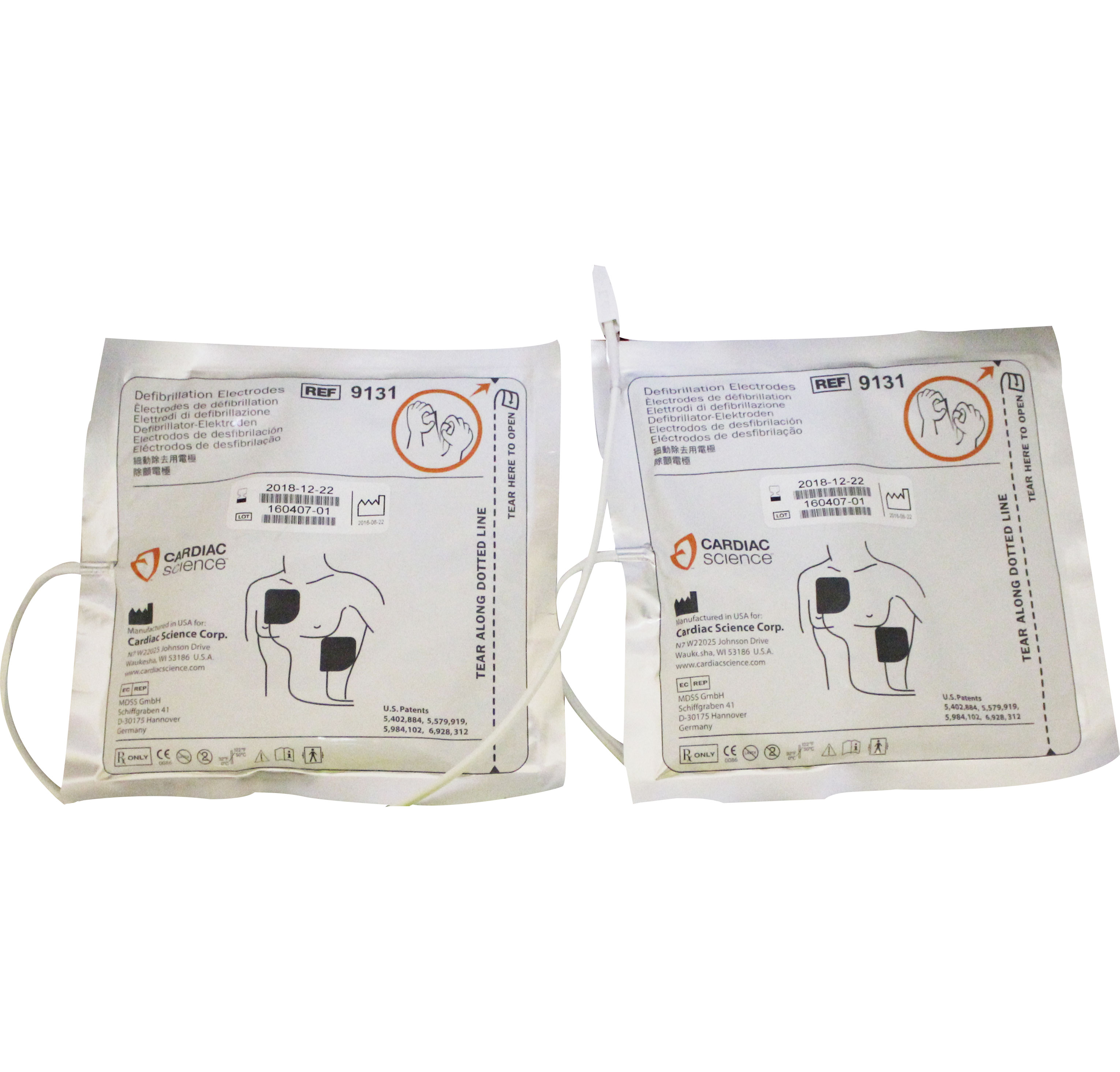 G3 - Defibrillation Pads (Adult) image