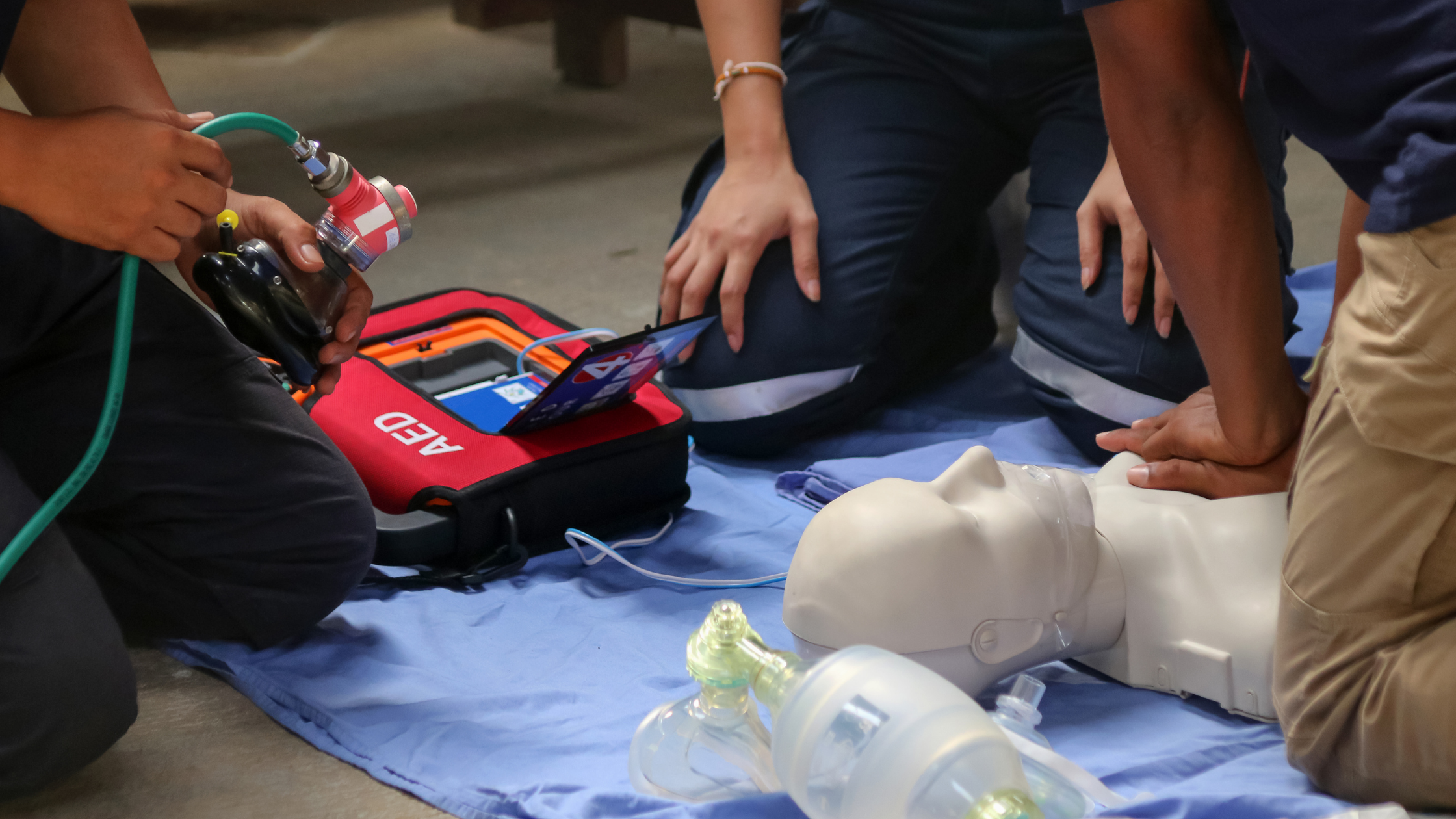 Duncan Standard First Aid and CPR Level C (Blended)