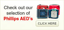 Check out our selection of Phillips AED's