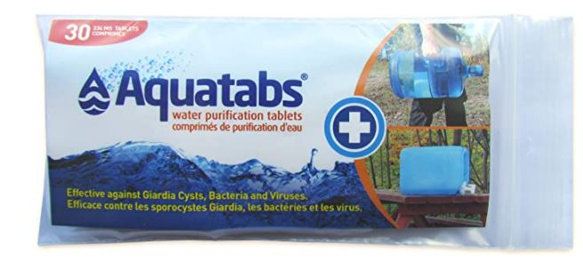 Emergency Drinking Water Tablets 334 mg - 30 pack  image