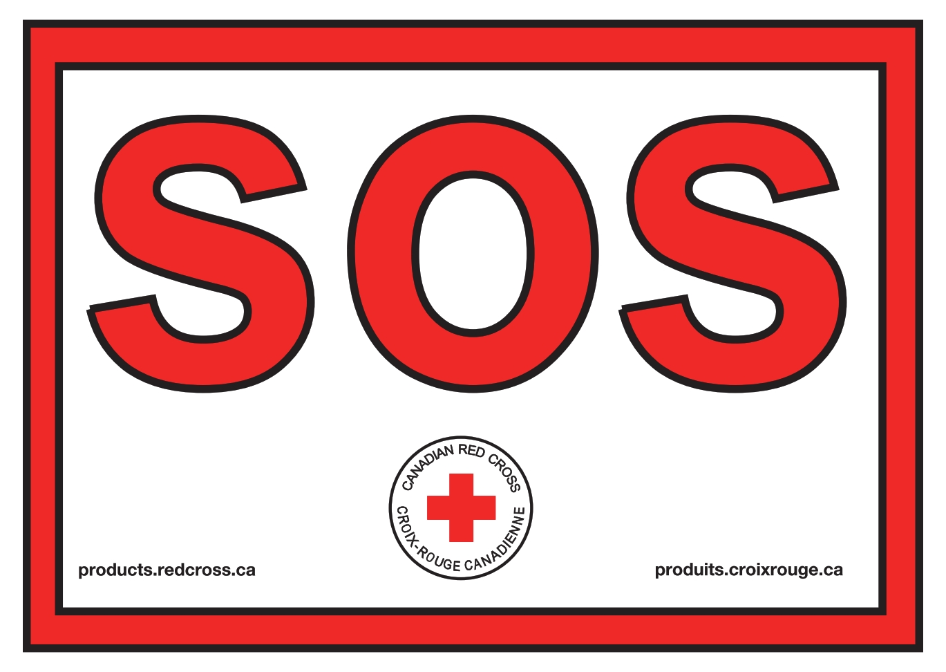 SOS Sign image