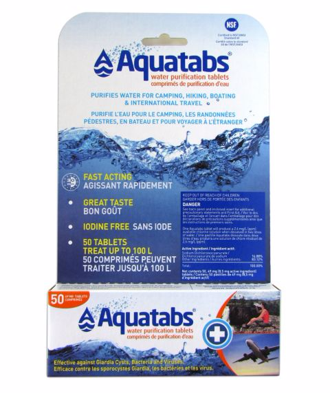 Emergency Drinking Water Tablets image