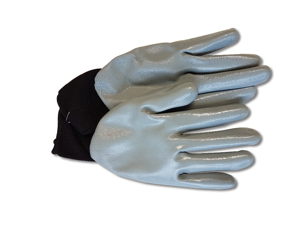 Nitrile Dipped Gloves image