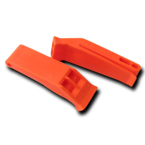 Orange Plastic Floating Whistle image