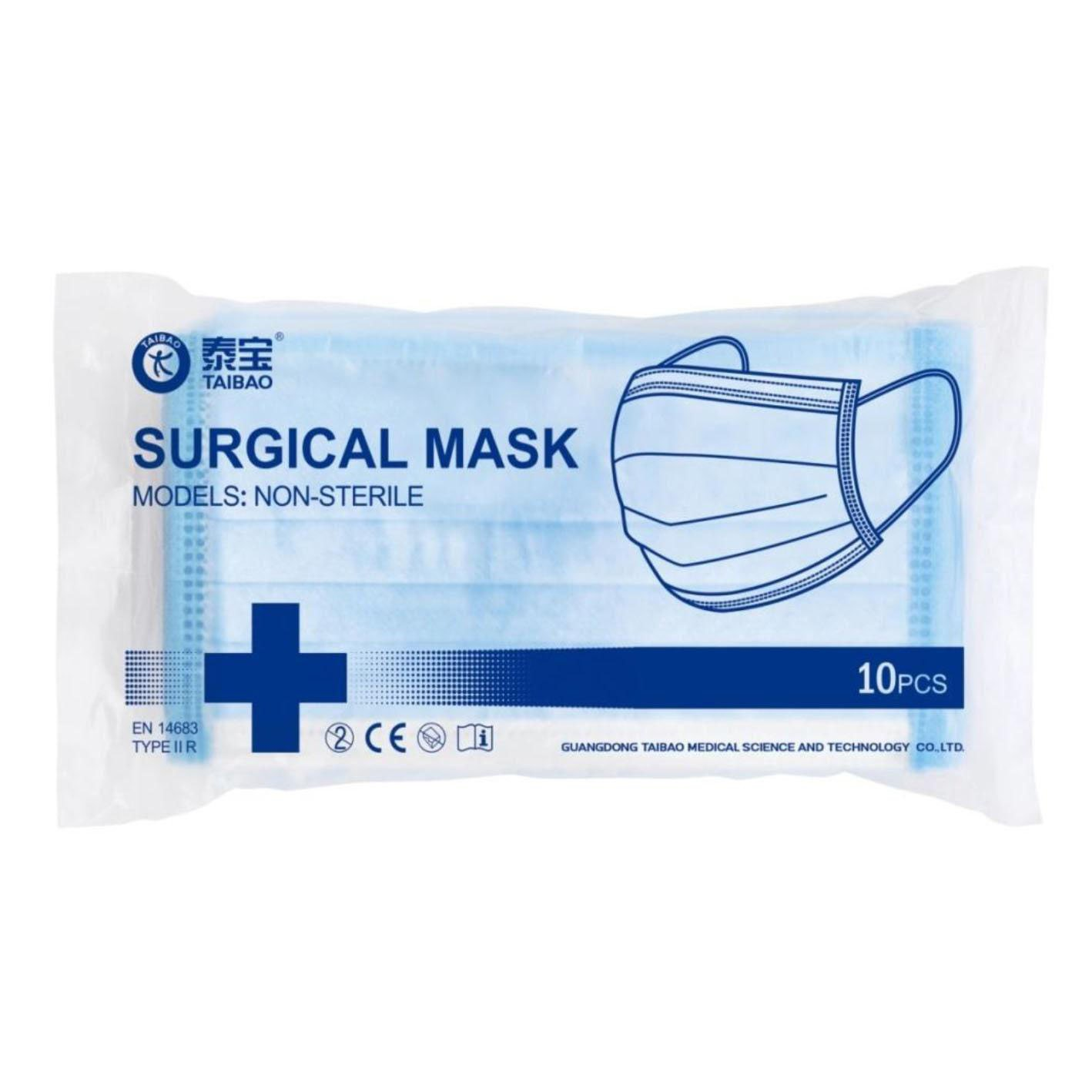 Surgical Mask - Level 3 (Bag of 10) image