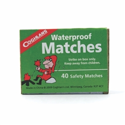Waterproof Matches: Box of 40 image