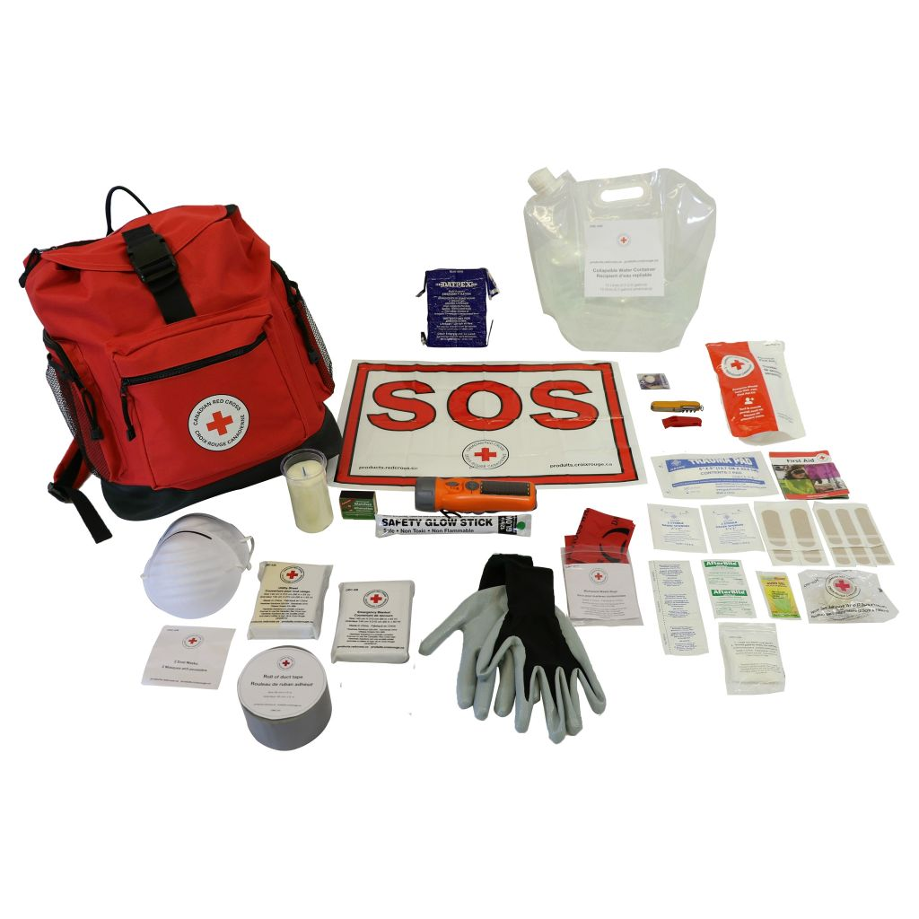 10 Person Basic Disaster Preparedness Kit image