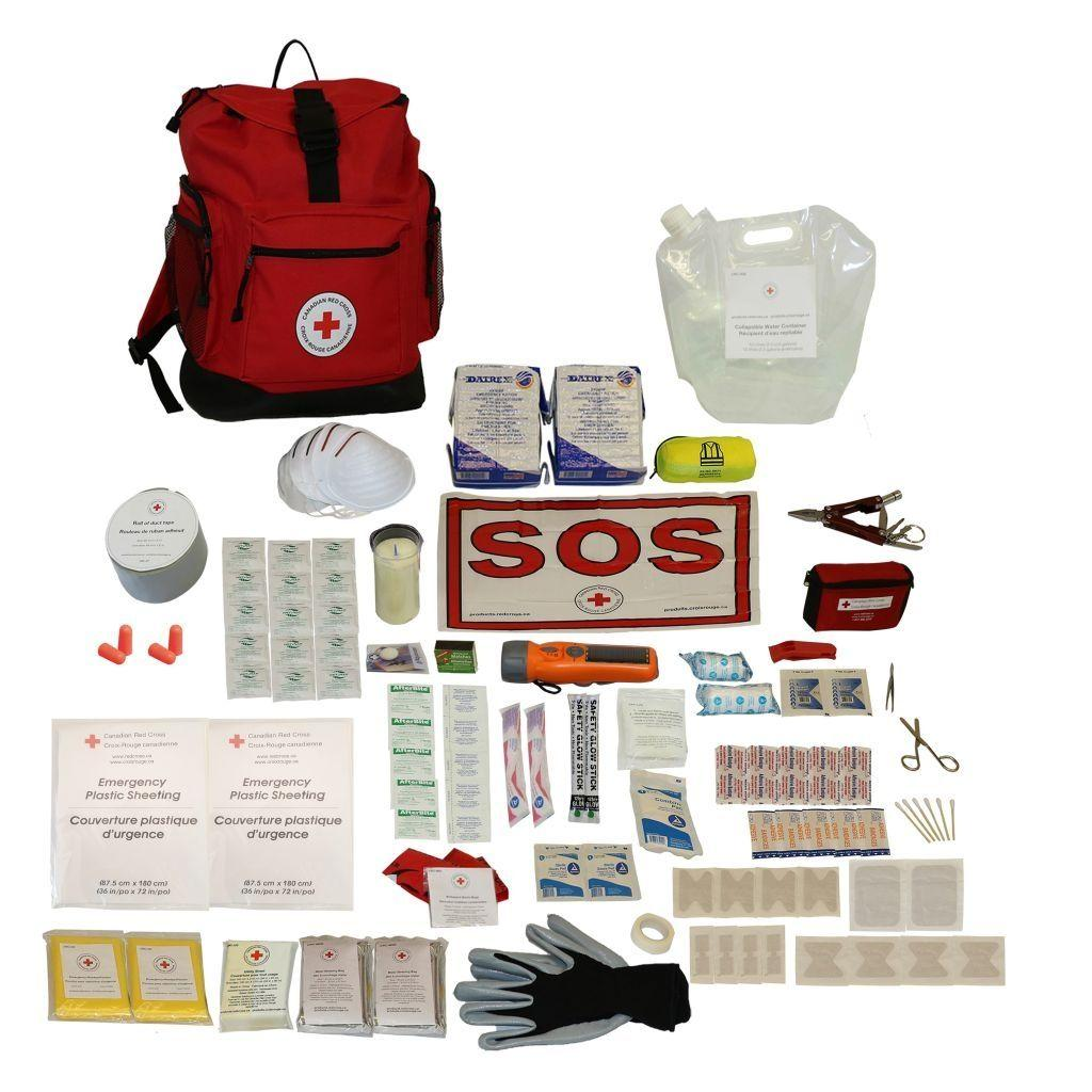 Deluxe Disaster Preparedness Kit - 2 Person image
