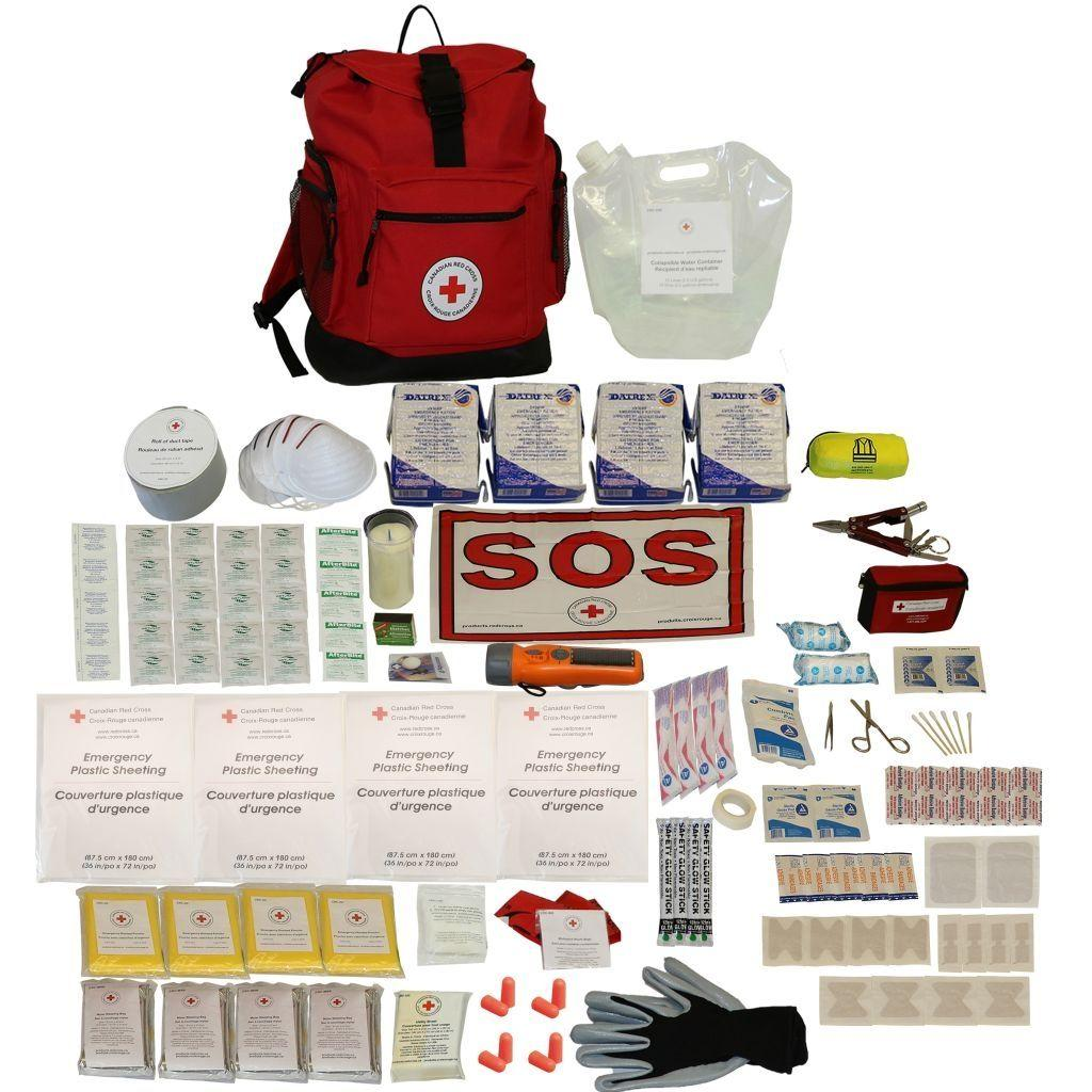 Deluxe Survival Kit 4 Person Image
