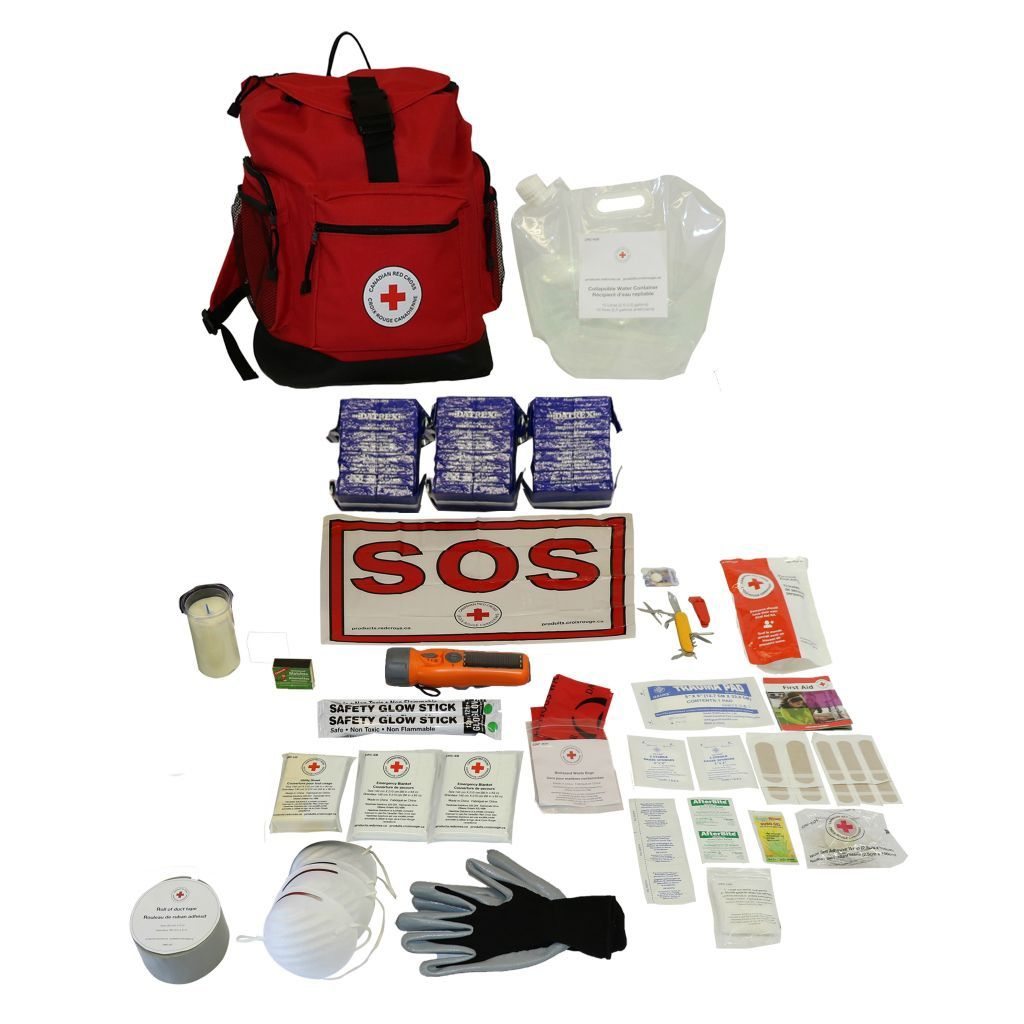 Basic Disaster Preparedness Kit - 3 Person image