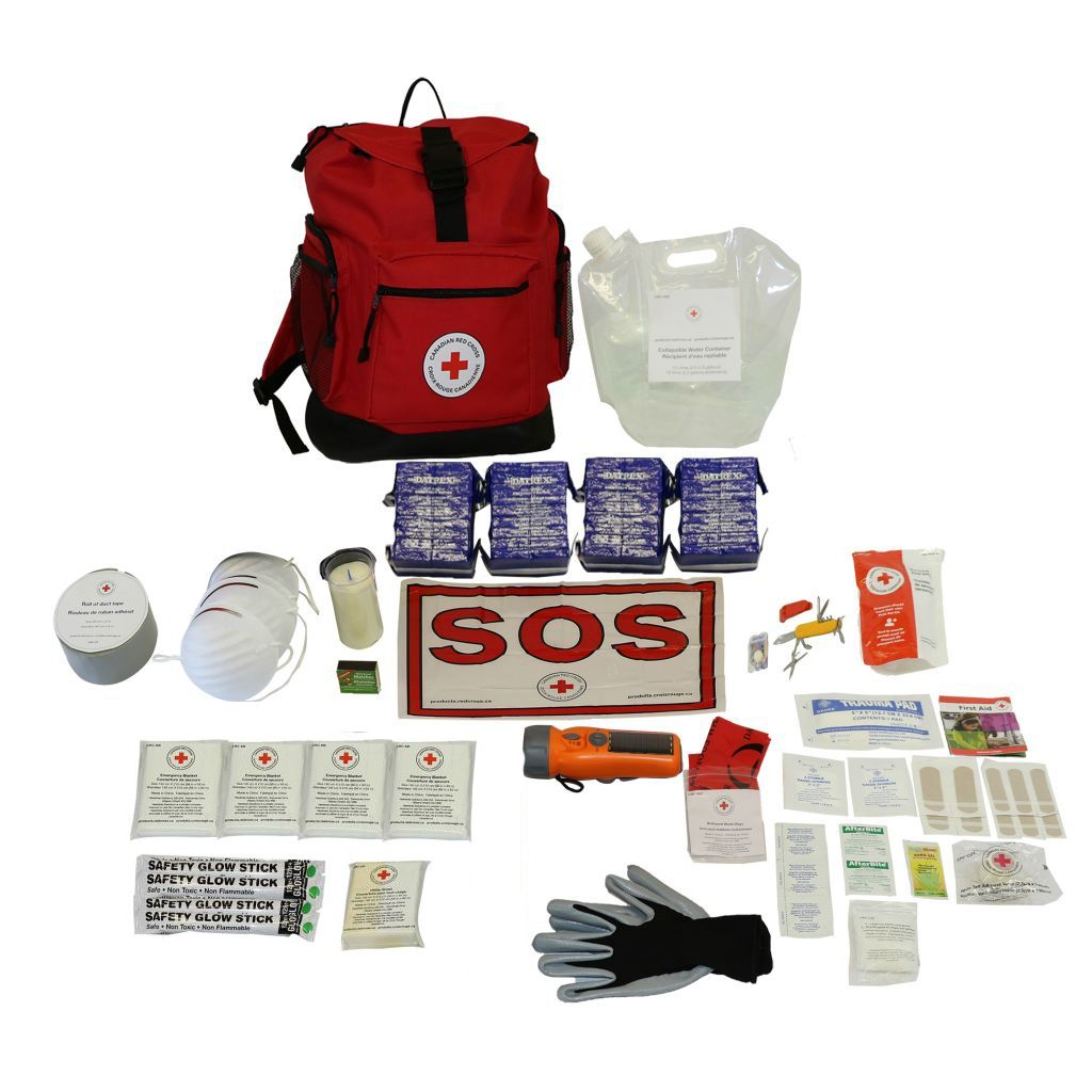 Basic Disaster Preparedness Kit - 4 Person image