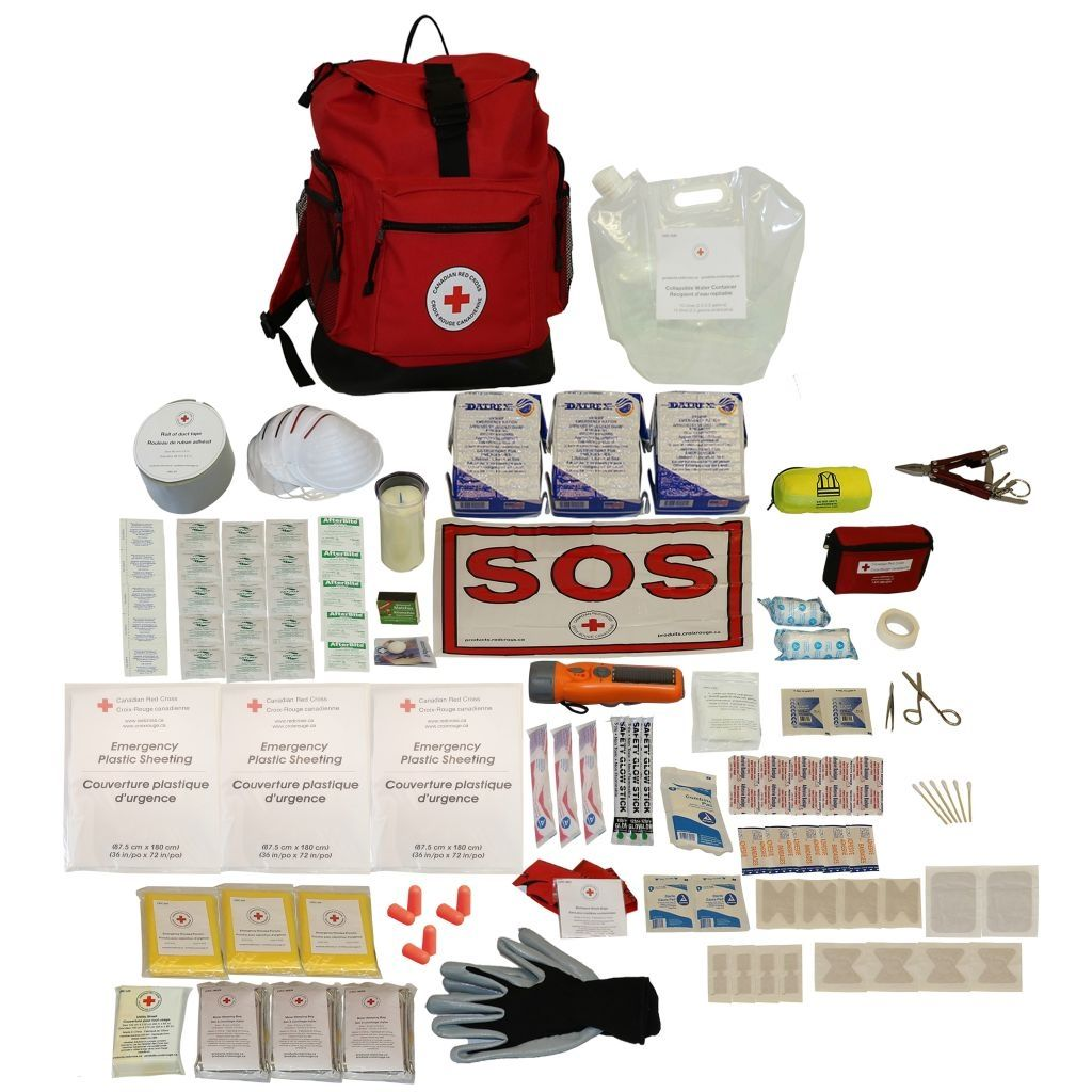 Deluxe Disaster Preparedness Kit - 3 Person image
