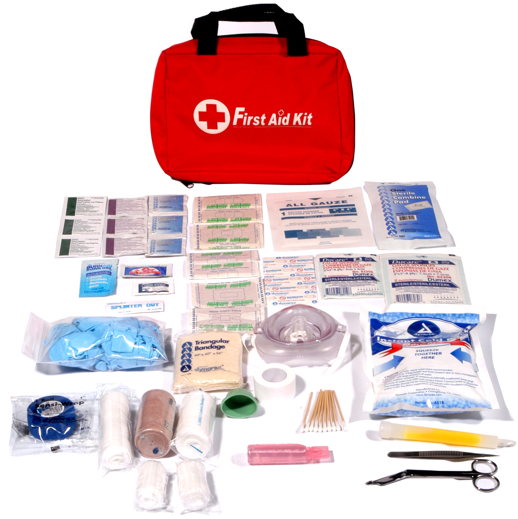 Emergency Deluxe First-Aid Kit image