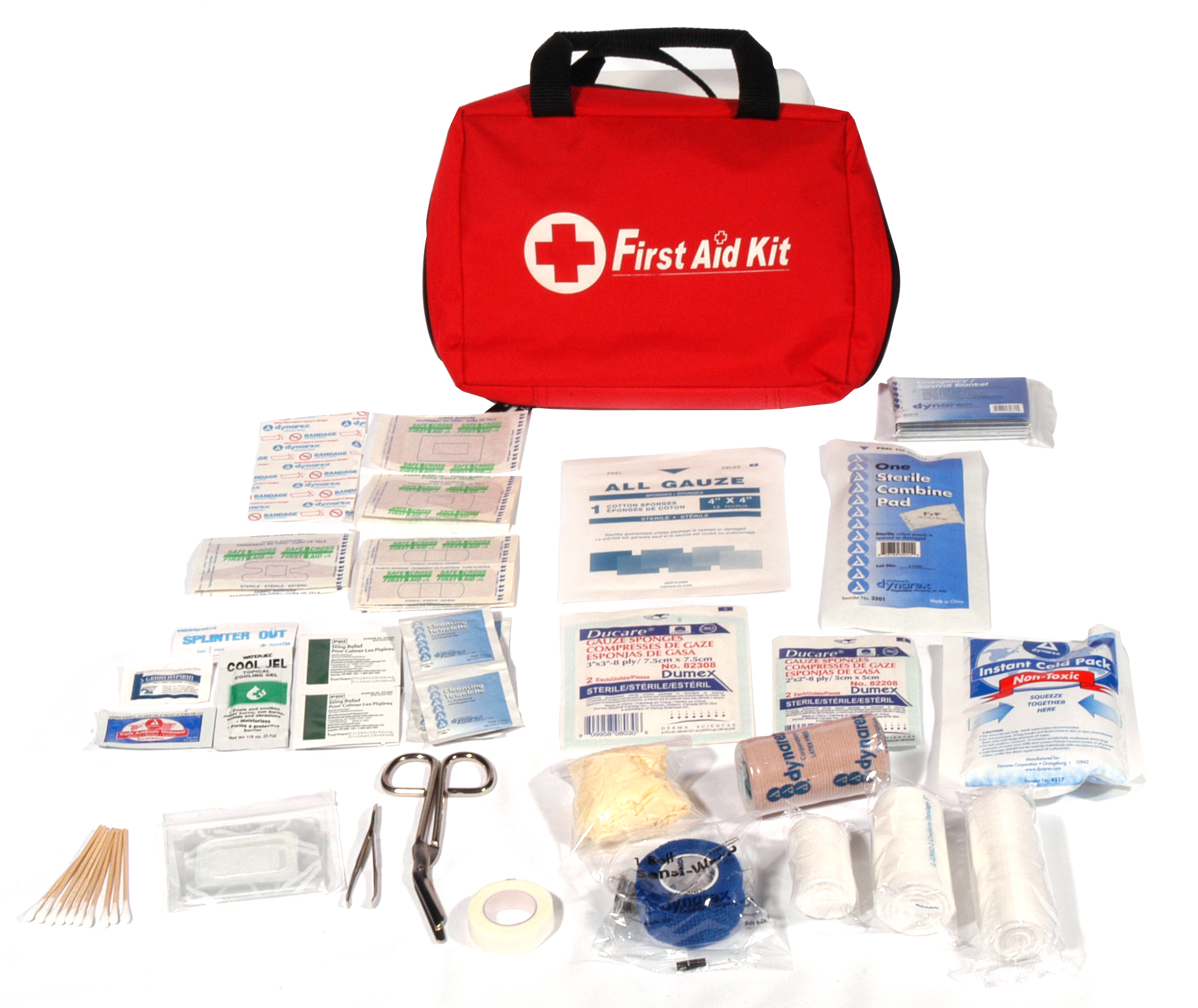 Emergency First-Aid Kit image