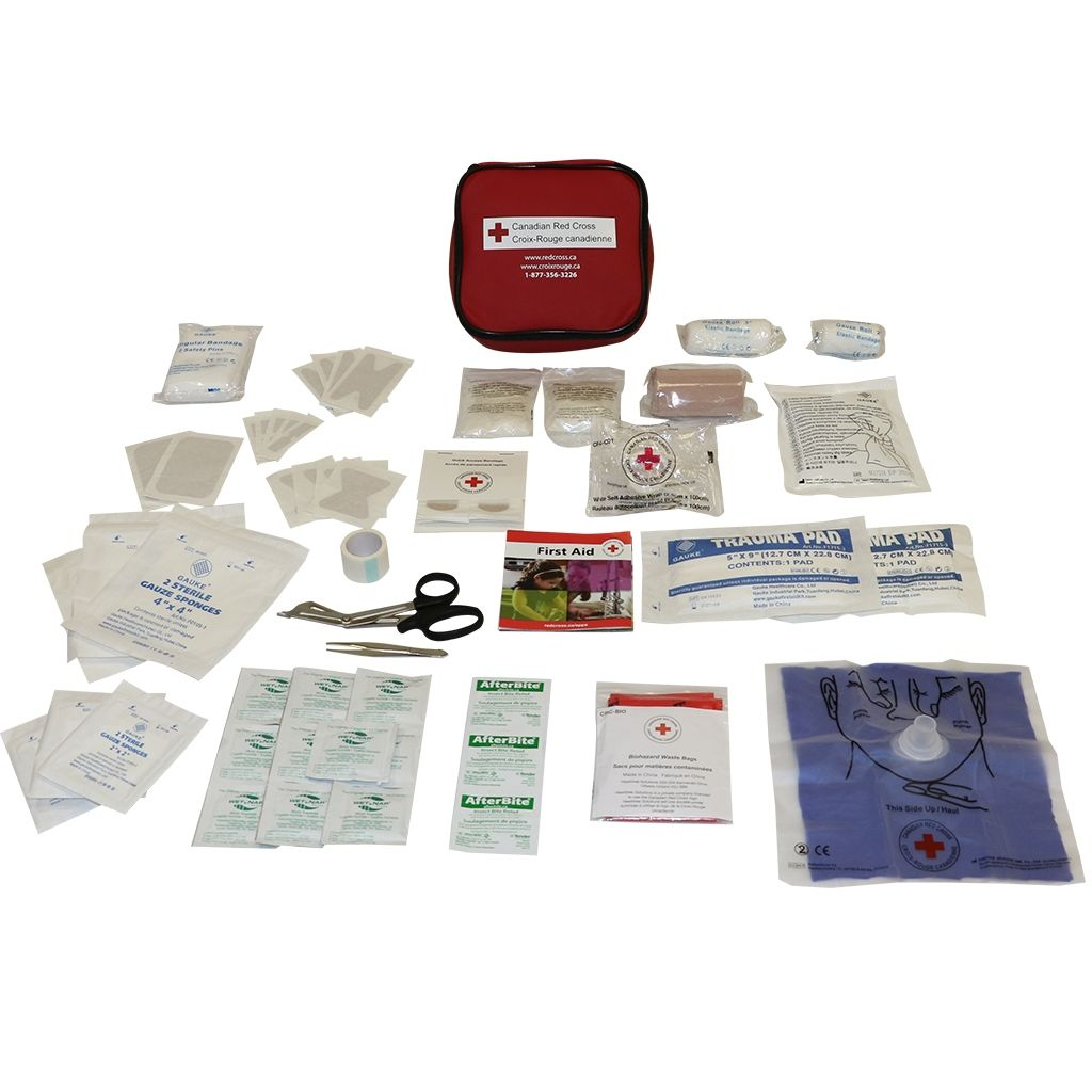Canadian Red Cross Auto First Aid Kit image