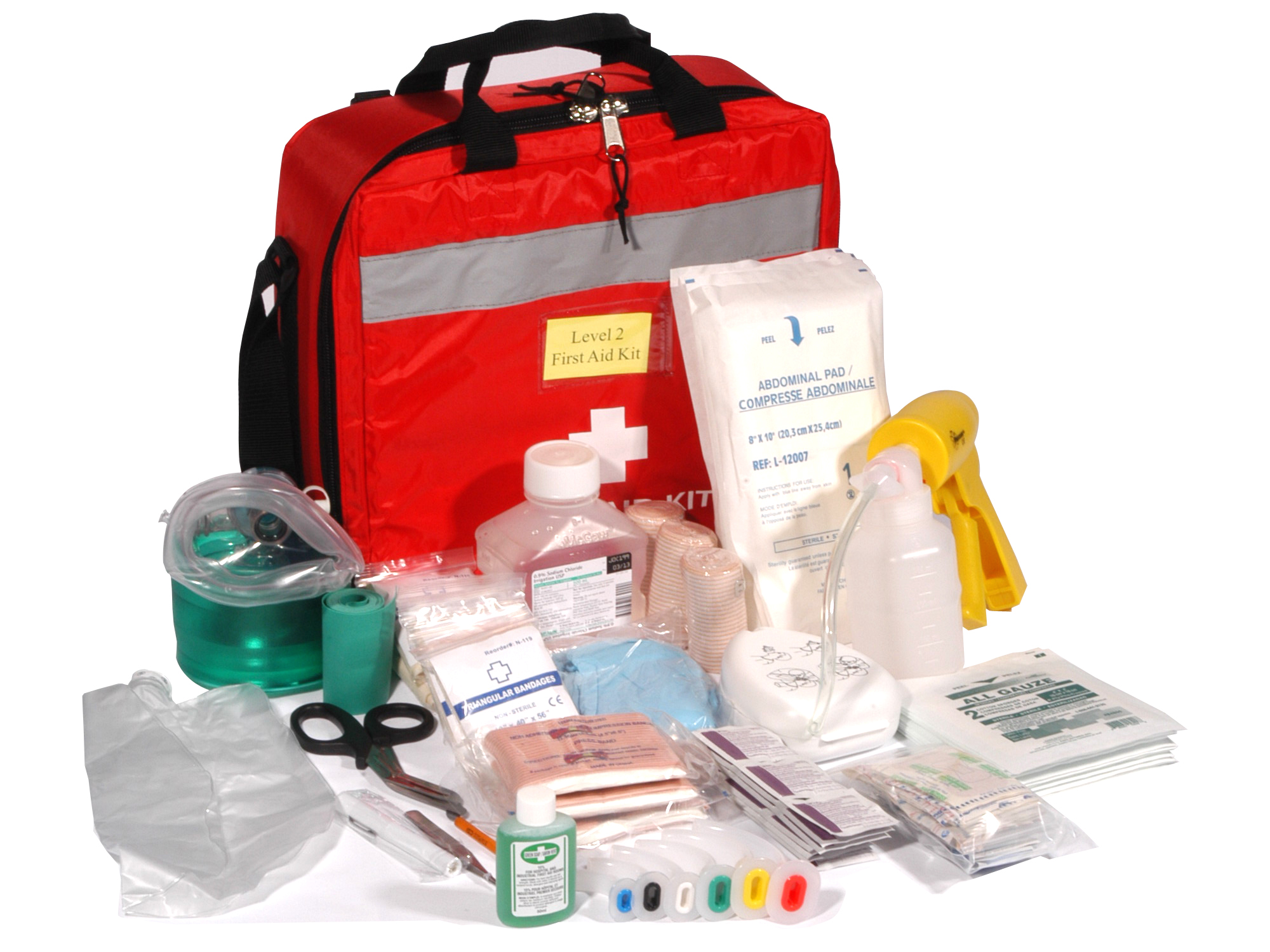 *NEW* WorkSafeBC Level 3 First Aid Kit (2018) image