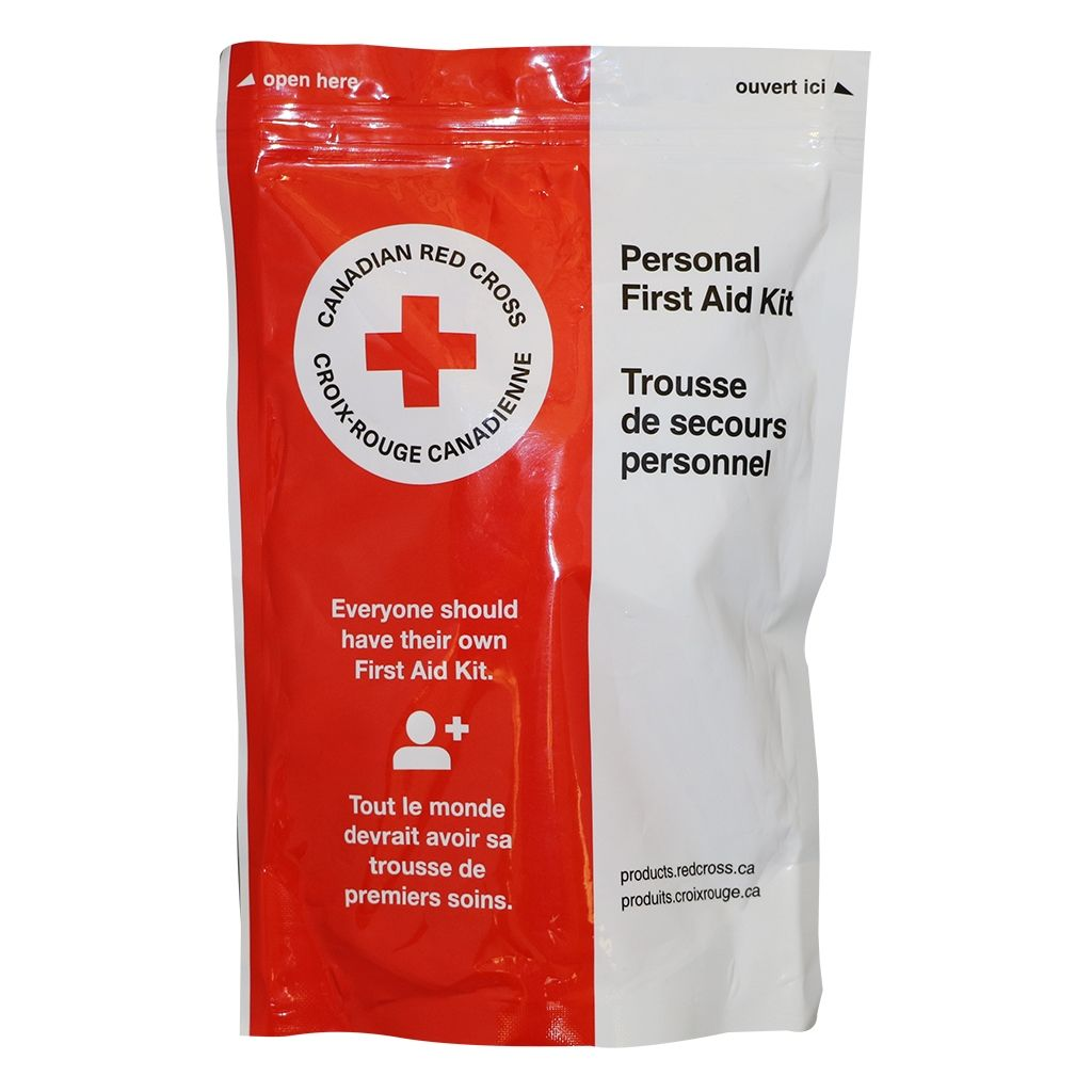 Canadian Red Cross Personal First Aid Kit image