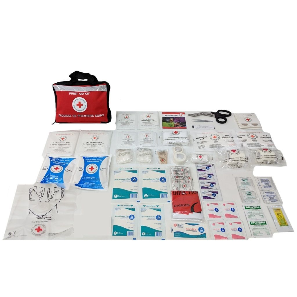 Canadian Red Cross Basic Sport First Aid Kit image