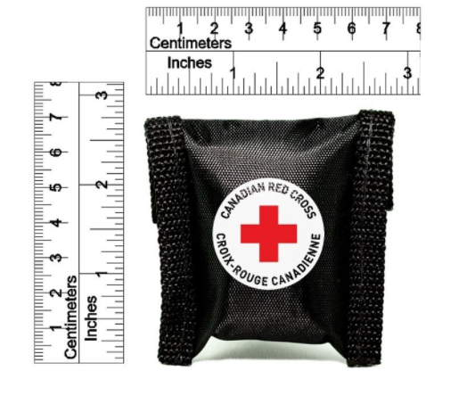 CANADIAN RED CROSS CPR KEY CHAIN (BLACK) image