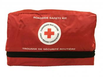 Roadside First Aid and Safety Kit image