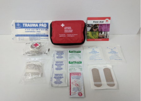 RED CROSS PERSONAL FIRST AID KIT (NYLON BAG) image