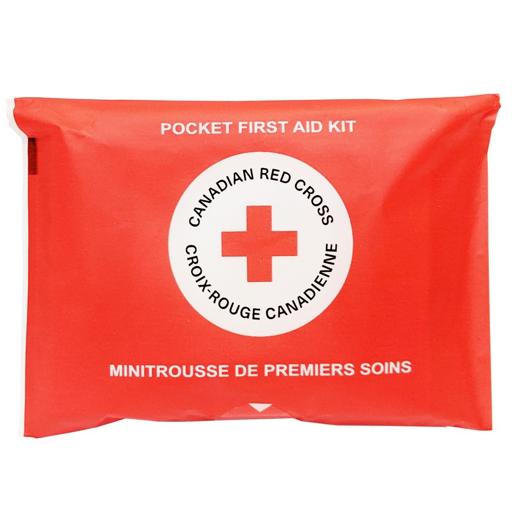 Canadian Red Cross Pocket First Aid Kit image