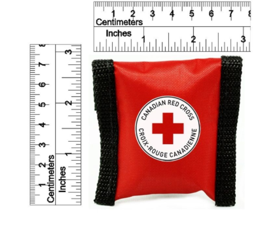 CANADIAN RED CROSS CPR KEY CHAIN (RED) image