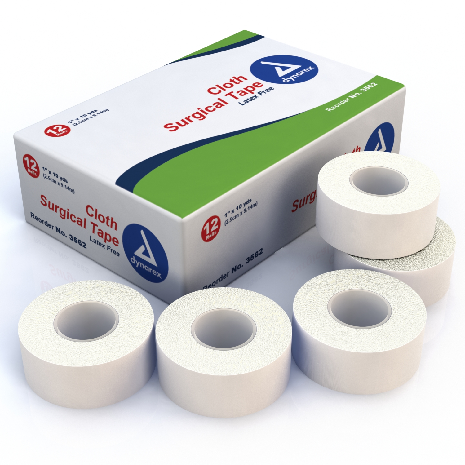1 Inch Cloth Surgical Tape: Single Roll image