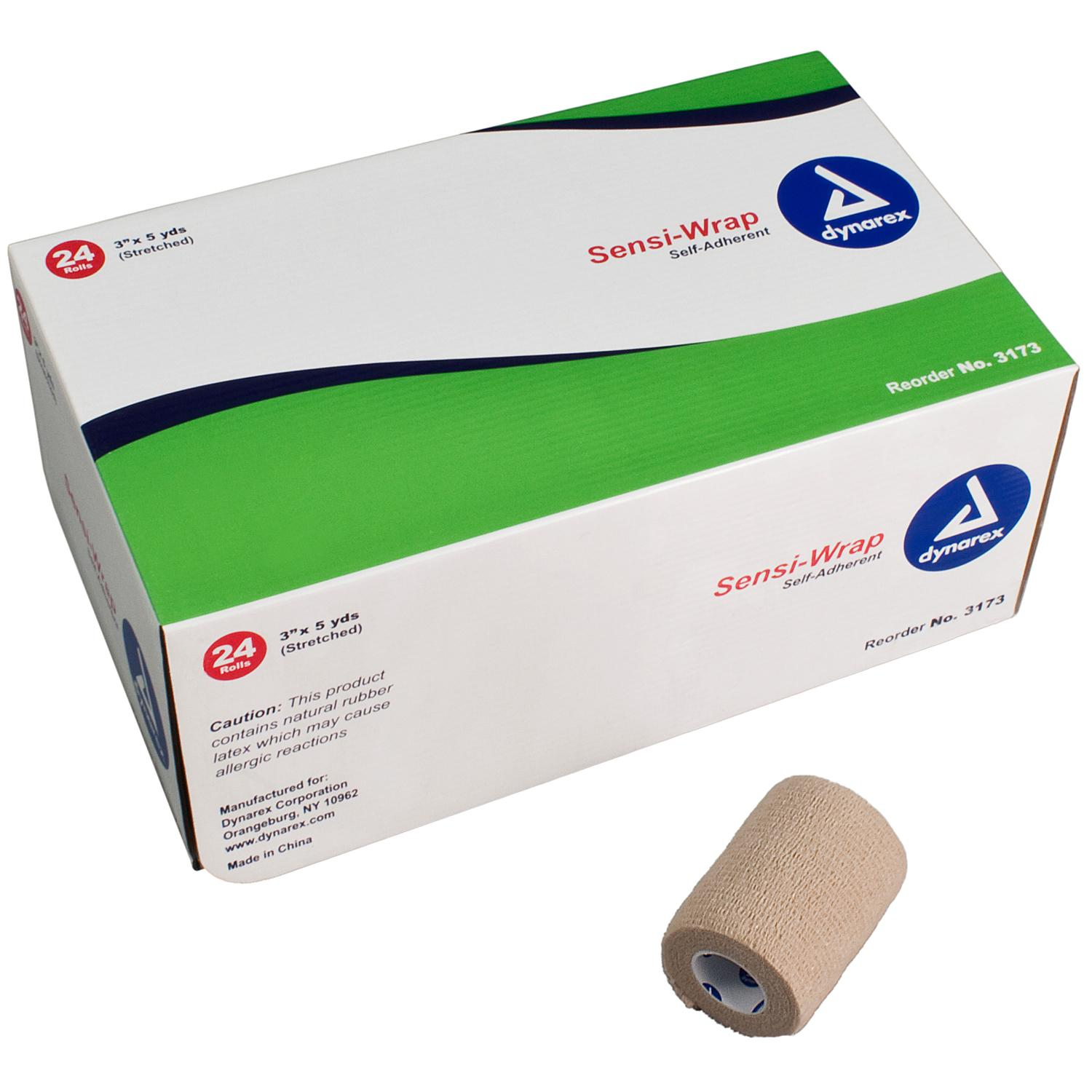 3 Inch Sensi-Wrap: Single Roll (Tan) image