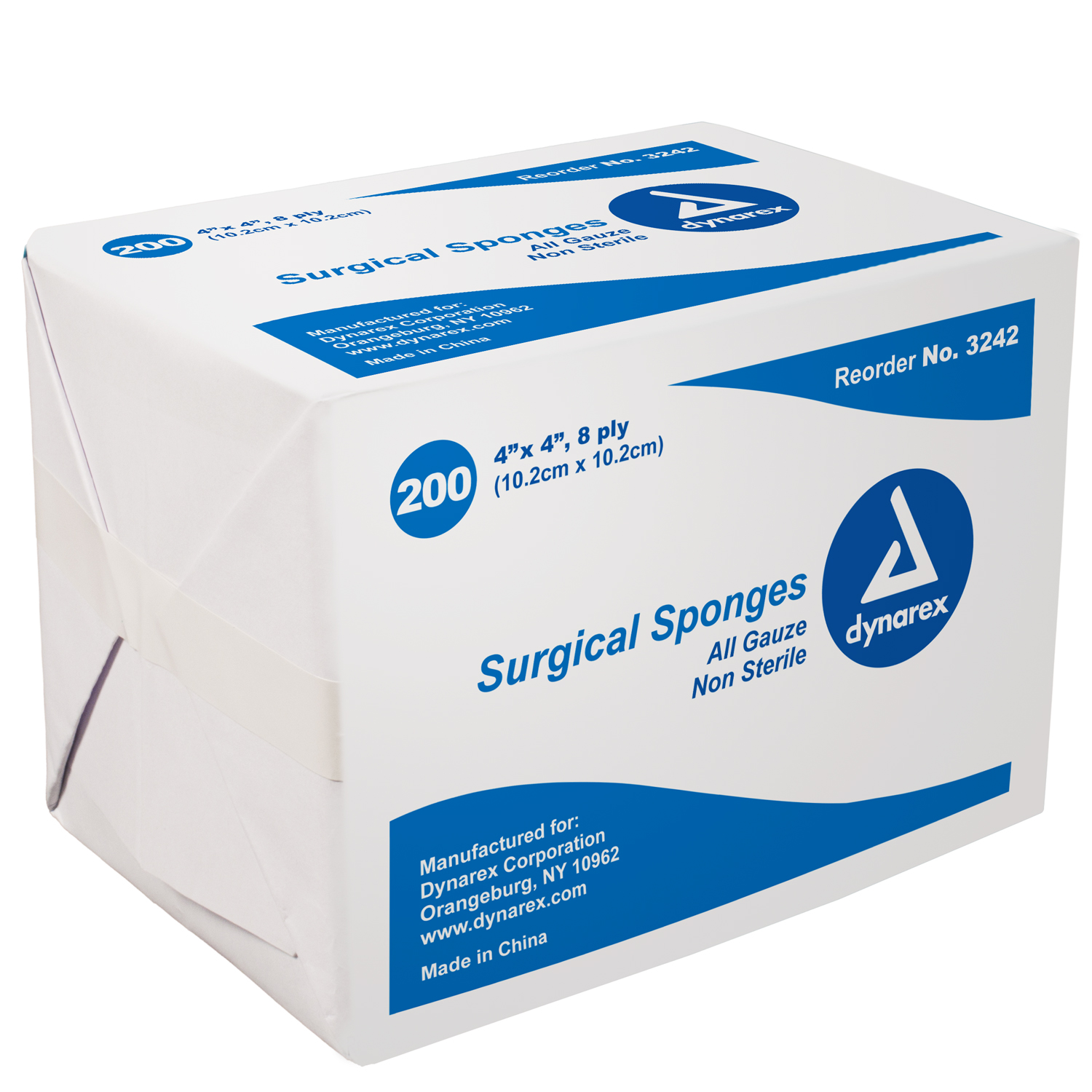 4x4 Non Sterile Gauze: Bag of 200 image