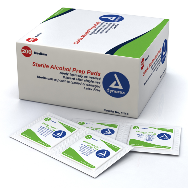 Alcohol Swabs: Box of 200 image