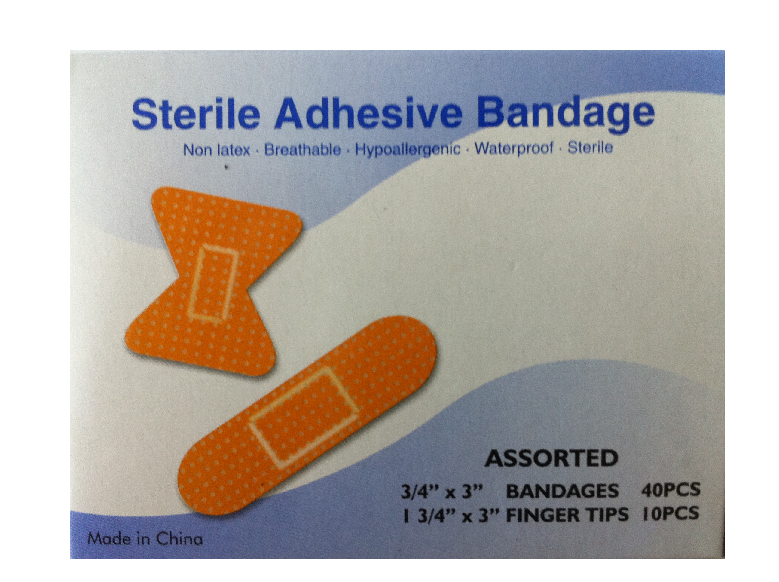 Assorted Plastic Bandages: Box of 50 image