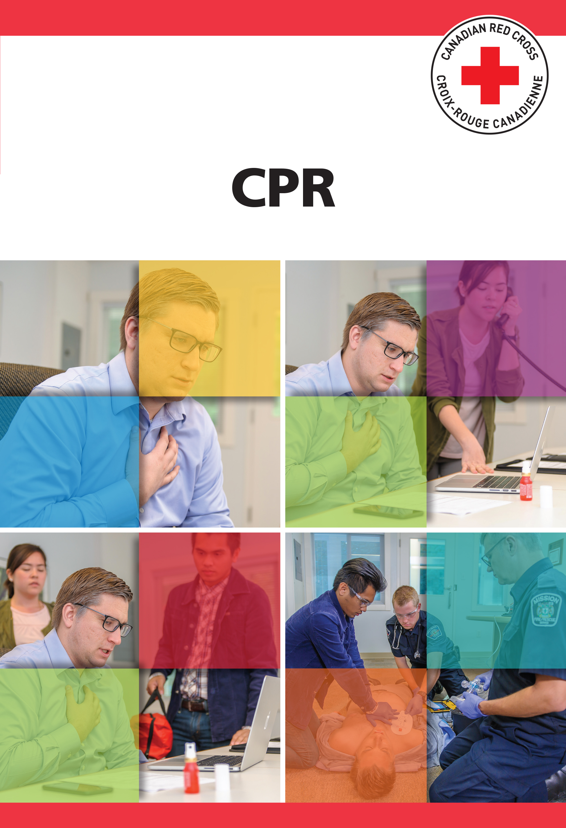 Canadian Red Cross CPR Manual image