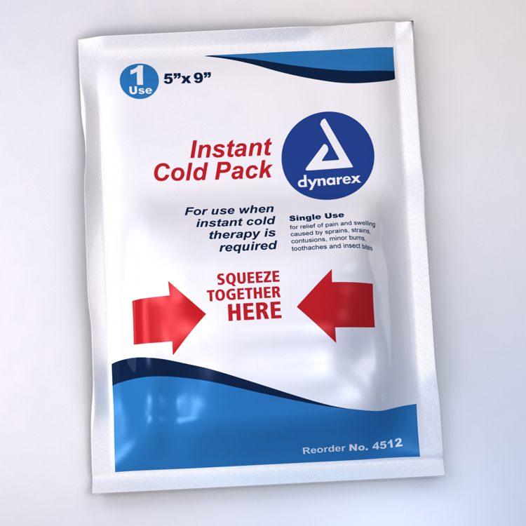 Instant Ice Pack 5x9 Non Toxic image