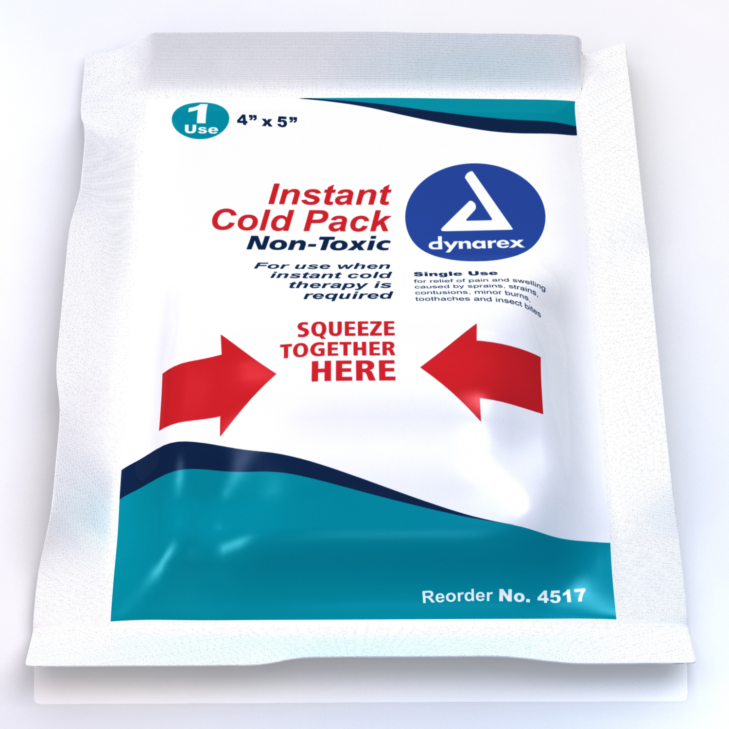Instant Ice Pack 4x5 Non Toxic image