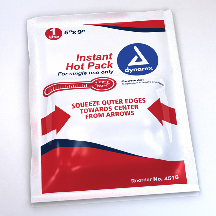 Instant Hot Pack 5x9 Non Toxic image