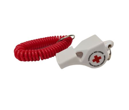 CRC Lifeguard Whistle with Wrist Lanyard image