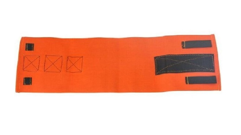 Orange Velcro Zap Straps image
