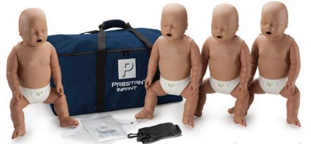 Prestan Infant Manikin with CPR Monitor: Pack of 4 image