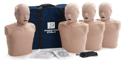 Prestan Child CPR Manikin 4 Pack With CPR Monitor image
