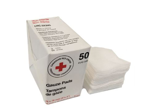 4'' × 4'' Non Sterile Gauze 8 Ply - Bag of 50  image