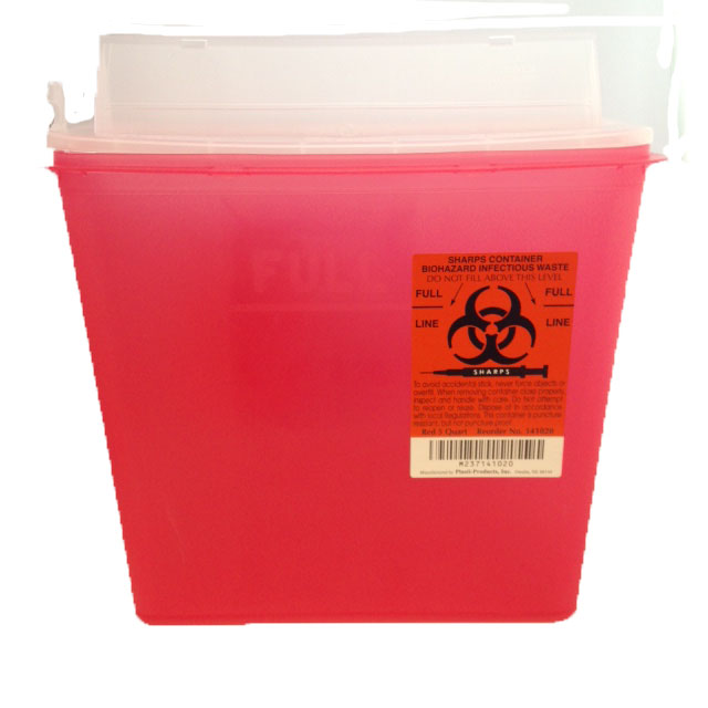 Sharps Container Insert image
