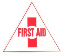 Small First-Aid Sticker image